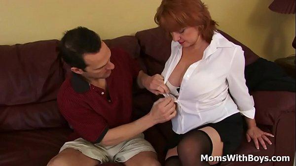 Milf Calliste receiving sexual favor from her client