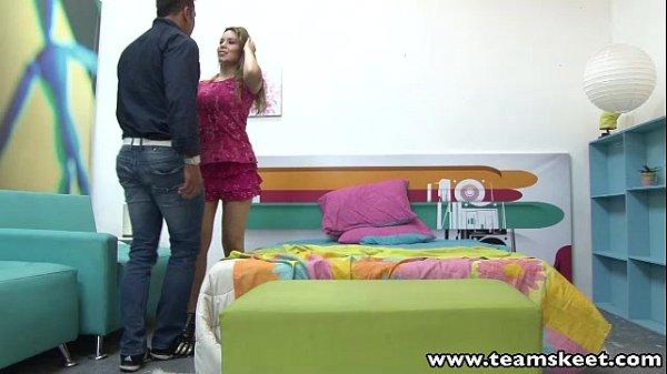 OyeLoca Big tits blonde latina Teresa Carvajal fucked