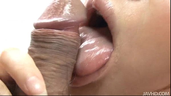 Japanese Honey Yukina Momose Licking and Eating Hairy Balls