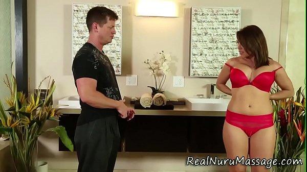 Sensual masseuse spunk