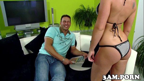 Bikini booty babe anallyfucked doggystyle Thumb