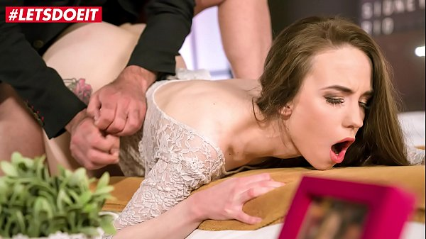 LETSDOEIT - Russian Teen Angel Rush Fucks With Her Older BF While He Speaks At The Phone During Sex