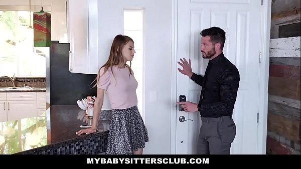 MyBabySittersClub - Babysitter (Jillian Janson) Fucked By Huge Cock