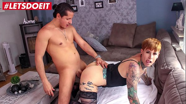 Busty German MILF gets rough sex from her lover