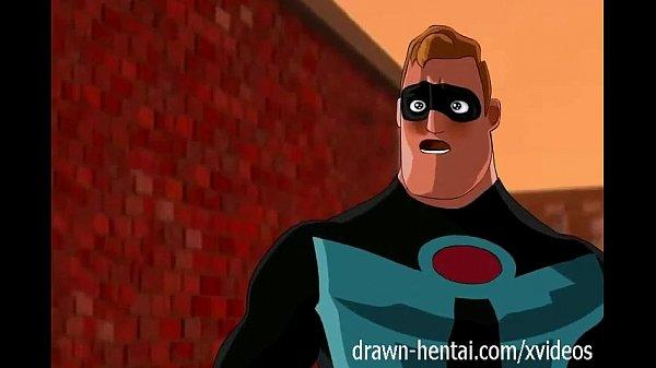 Big Ass Cartoon Porn Incredibles - Incredibles hentai - First encounter - XVIDEOS.COM