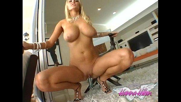 סרטון פורנו Hanna Hilton Blue Bikini