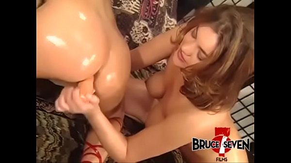 BRUCE SEVEN - Oiled Up Lesbian Butt Play