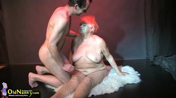 OldNanny Big tits bbw granny have a threesome sex hardcore Thumb