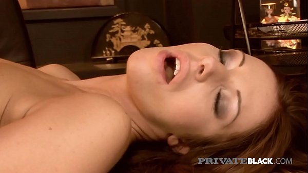 PrivateBlack - Debbie White Bangs Big Black Boss Gets Cum