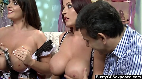 Huge Titted Sophie Dee Shares The Same Cock With Her Bestie Liza Del Sierra