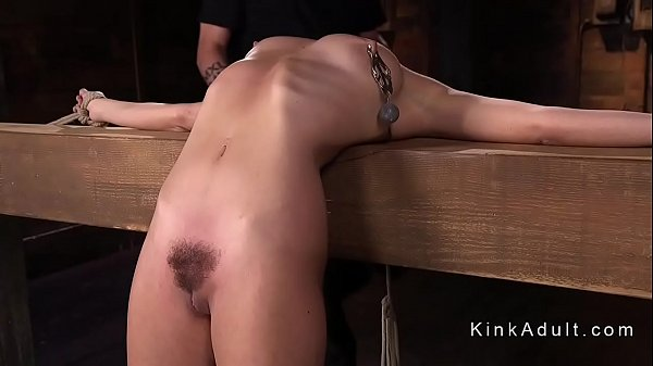 Babe gets several back bend positions