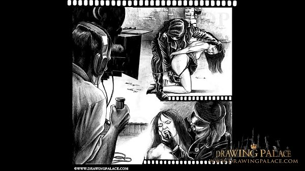 DrawingPalace Amazing realistic cartoon drawings of BDSM and fetish porn