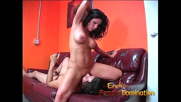 Naughty brunette stunner sucks on a cock and swallows some cum