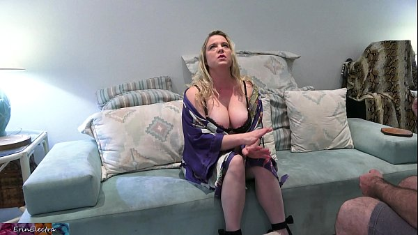 MILF gets even with her husband and fucks the lawnboy