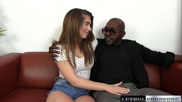Black Cocks Matter  - Sexy Joseline Kelly cums hard on first BBC