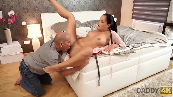DADDY4K. Dolly Diore is so lonely but BF's fath...