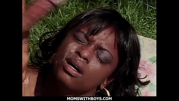 Ebony Mom Ms Panther Hardcore Outdoor Fucking