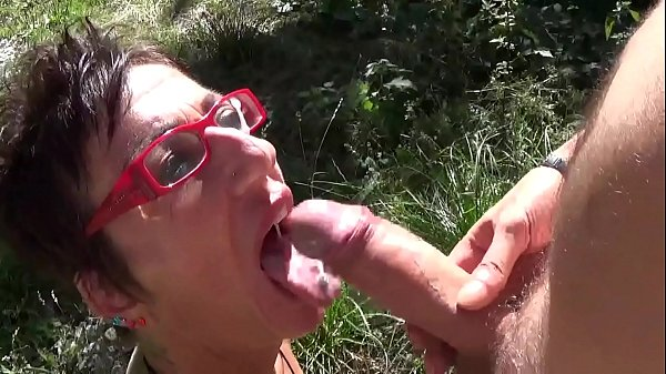 Kicca Martini fucked outdoors and pissed in mouth