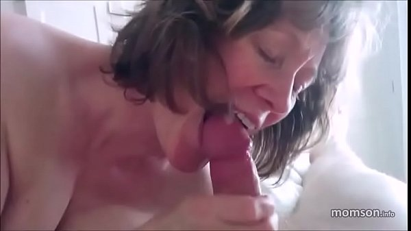 Real mom and son blowjob part 2