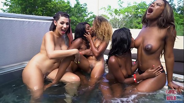 GIRLS GONE WILD - Kandie Monae, Evi Rei & Kiki Star Having Fun