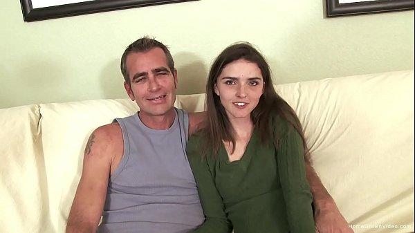 Thin brunette amateur screws her sugar daddy Thumb