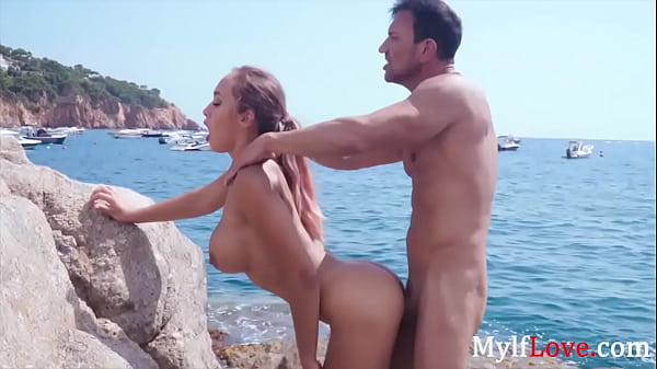 Beach Time Sex With Hot MILF- Briana Banderas