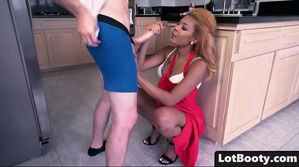 Big ass ebony Zoey Reyes interracial fucks