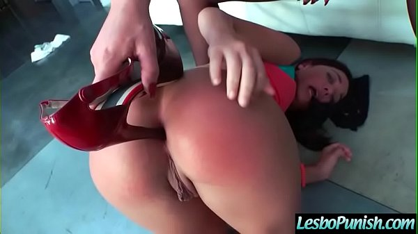 Hot Teen Girl (Phoenix Marie & Amara Romani) Punished With Toys By Mean Lesbian mov-28