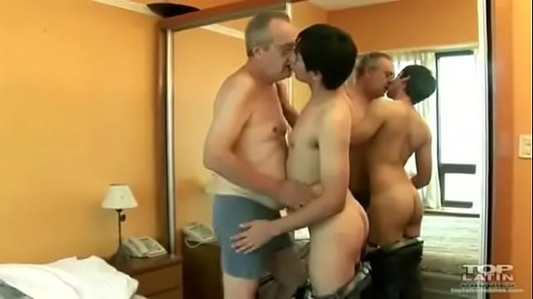 Old Men gay Sex With hung boy