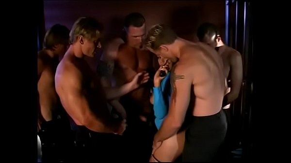Nasty young bitch Gia Paloma visits special club where she is able to enjoy Bacchanalia with five well-stufferd horny stallions