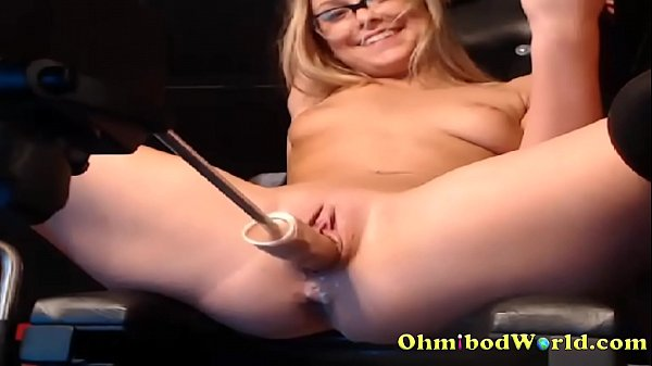 www.girls4cock.com *** Sex Addict Teen Gets Fucked by Sex Machine Thumb