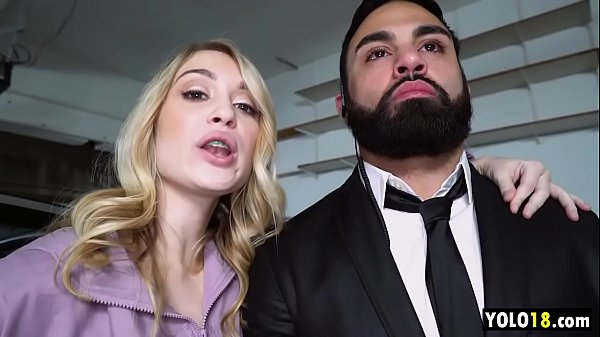 Rich Cunt Anastasia Knight f. Bodyguard to Service Big Cock to Her