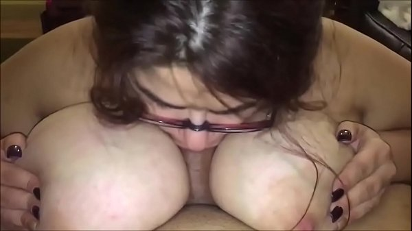 Fatty With Huge Tits Gets a Facial