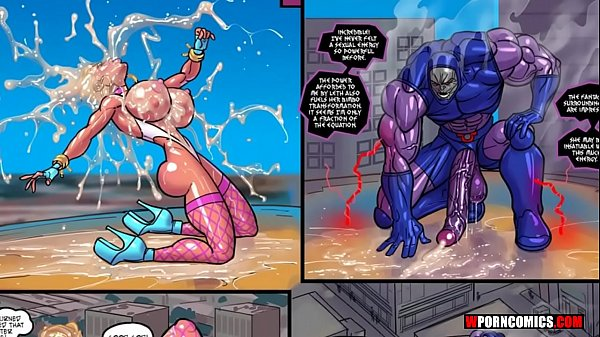 Porn comic Power Girl vs Darkseid. wporncomics.com