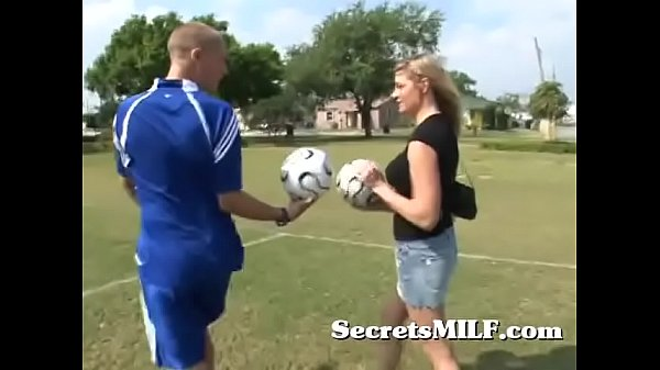 Hot Soccer Mom Learns To Play With The Coach's Balls Thumb