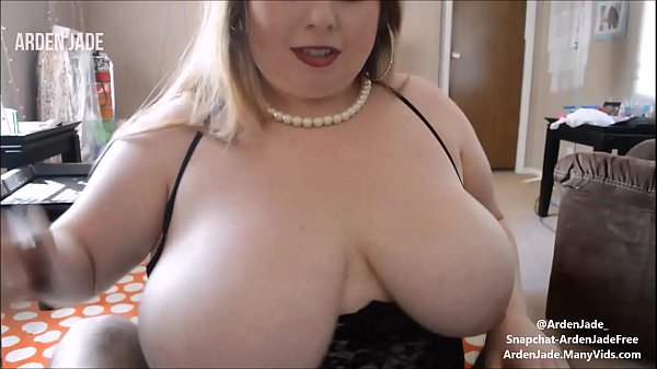 BBW With Big Tits Sucking & Stroking Cock & Edging To Cumshot in Mouth