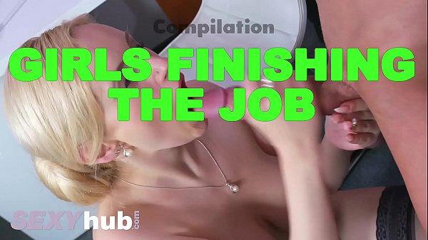 Dane Jones Girls finishing the job cumshot compilation handjobs blowjobs Thumb