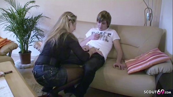 German Step Mom Jenny Teach Son How to Fuck on ...