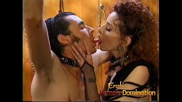 Kinky stallion has his throbbing shaft pleasured by a naughty slut