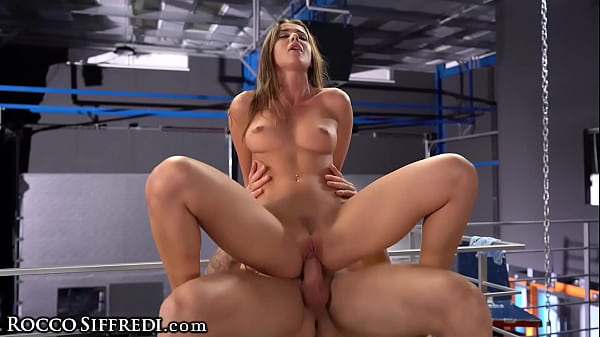 RoccoSiffredi Sybil Stretches Her Pussy Wide Open For Her Trainer's Big Cock