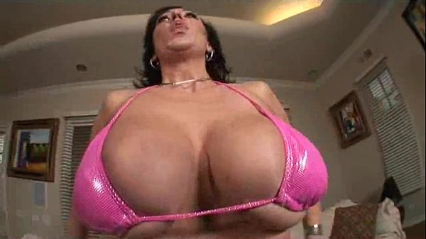 Double Busty Vixen Squeezes Cock With Tits!