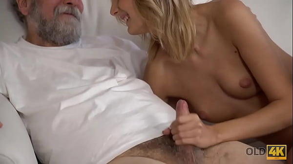 OLD4K. Old guy is always happy to satisfy sexy wife when she wakes up