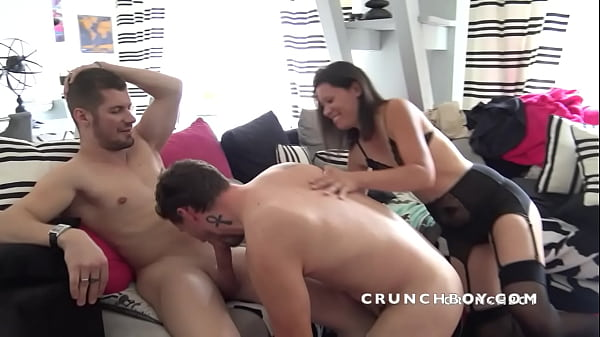 real french straight fucked for the first time by Vlad CASLTE and his Wife ! Bisex Crunchboy CLip
