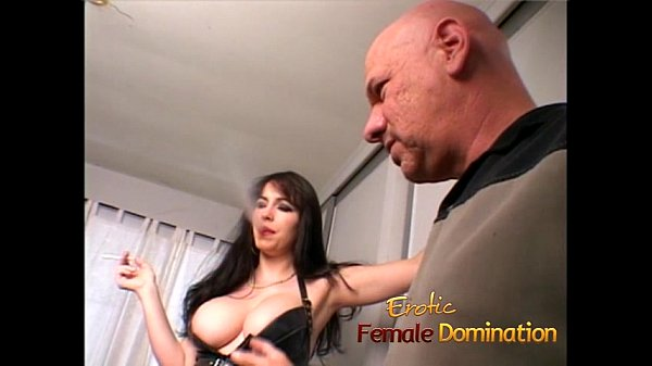 Stacked raven-haired bombshell milks a fat cock dry of cum