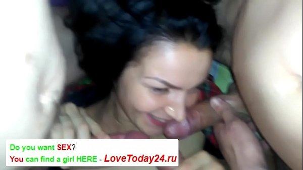 Russian Wife Gangbang