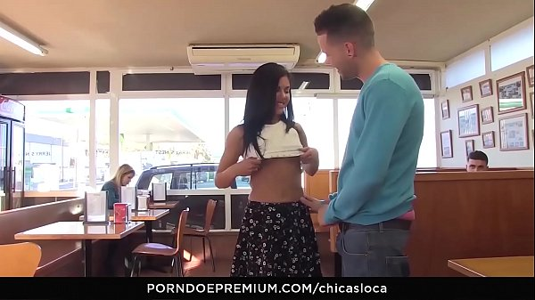CHICAS LOCA - Beautiful Latina Apolonia Lapiedra in hot public sex Thumb