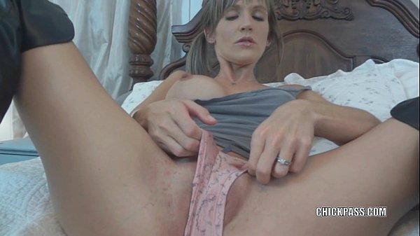Blonde wife Jolene in black boots while fucking...
