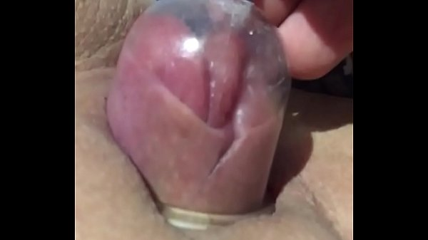 Wife suction cups on fanny and boobies