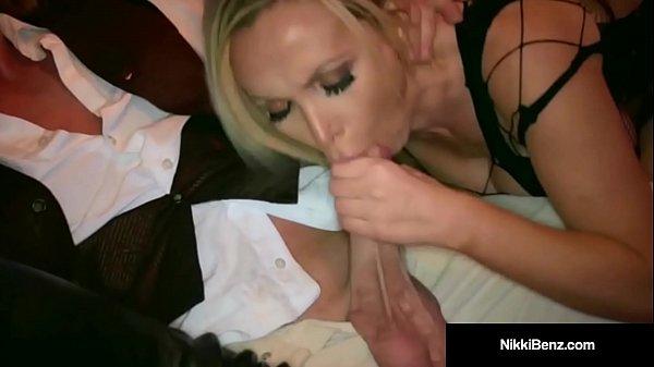 Penthouse Pet Nikki Benz & Jessica Jaymes Get Some Cock!