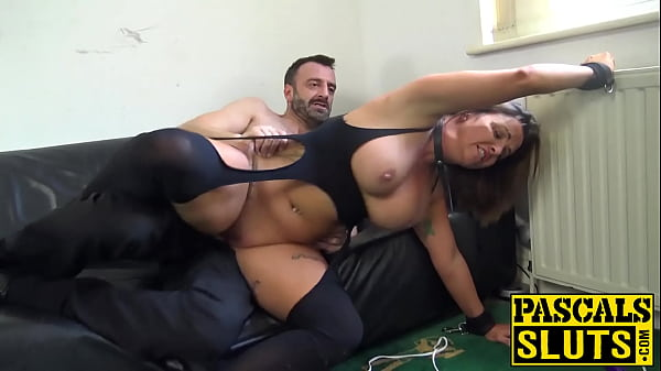 Luscious Sienna Hudson toys pussy during severe banging Thumb